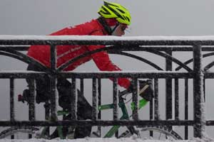 biking winter 300x200